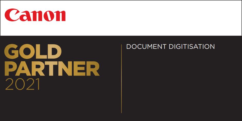 Canon Gold Partner 2021