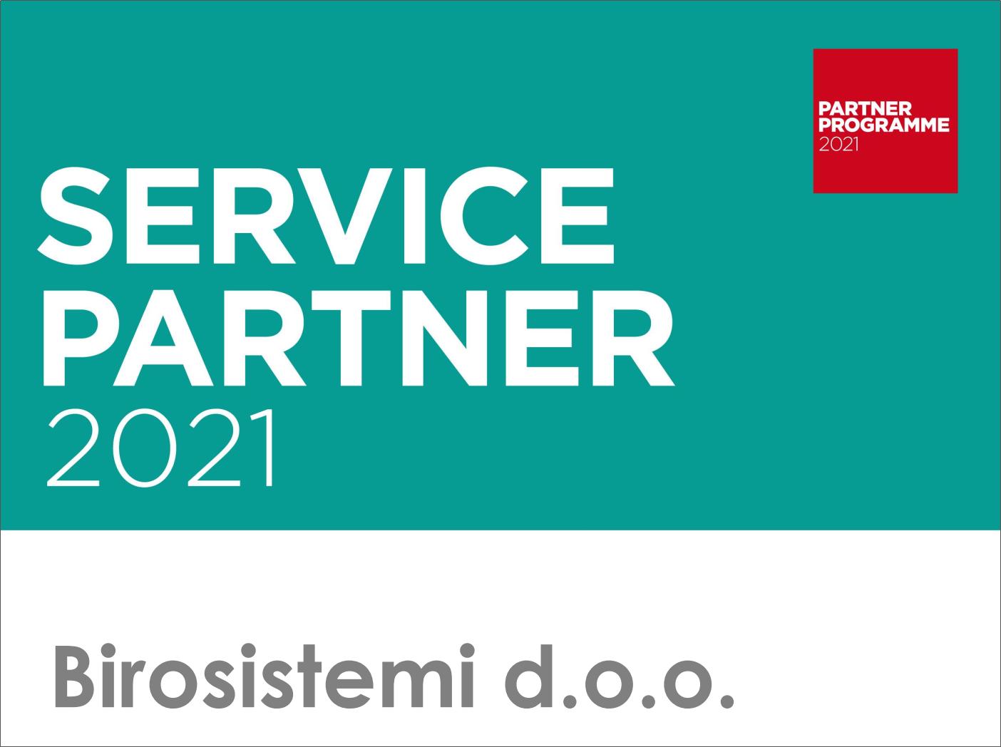 Canon Service Partner 2021