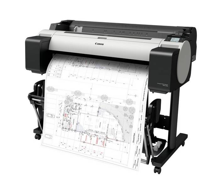 Velikoformatni tiskalnik Canon TM305 s stojalom